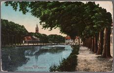 NL-HlmNHA_162_2519_1021 Kanaalweg, kanaal en het Westplein, thans Helden der Zeeplein., 1910-1915