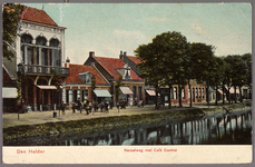 NL-HlmNHA_162_2519_1058 De Kanaalweg met geheel links Café Centraal., 1905-1909