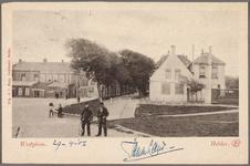 NL-HlmNHA_162_2519_1384 Het Westplein (Helden der Zeeplein)., 1899-1906
