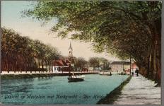 NL-HlmNHA_162_2519_1387_1 Gezicht op Westplein/Helden der Zeeplein met Kerkgracht, ziende naar het westen., 1913-1917
