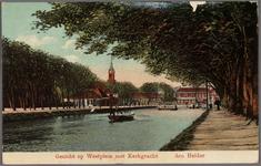 NL-HlmNHA_162_2519_1387_2 Gezicht op Westplein/Helden der Zeeplein met Kerkgracht, ziende naar het westen., 1913-1917