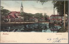 NL-HlmNHA_162_2519_1543 De Westerkerk aan het Westplein/Helden der Zeeplein., 1890-1901