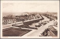 NL-HlmNHA_162_2519_845 Panorama van Den Helder vanaf de kerktoren aan het Westplein, ziende naar het noordoosten., 1920-1927