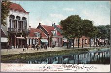 NL-HlmNHA_162_2519_995 De Kanaalweg met links het Café Central., 1905-1906