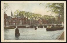 NL-HlmNHA_162_2629_0182 De Vecht en daarachter de Hoogstraat., 1930-1940