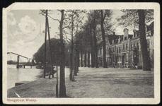 NL-HlmNHA_162_2629_0188 Hoogstraat langs de Vecht., 1910-1920