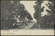 NL-HlmNHA_Hmr_0656 Gezicht op de Kruislaan gezien vanaf de Hoofdweg Westzijde te Hoofddorp, 1900-1925
