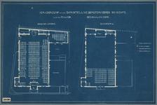 NL-HlmNHA_52002030 Kerkgebouw van de Christelijke Gereformeerde gemeente aan de Raaks.Begane grond | Gaanderij, 1930-1940